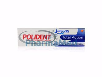 Image de POLIDENT TOTAL ACTION - colle dentier  - 40gr