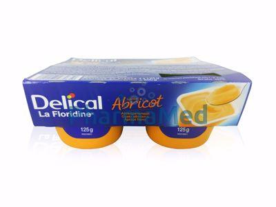 Image sur Delical La Floridine crème abricot - 4x125gr