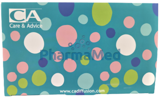 Image de Masques chir. enfants 3 plis Type IIR bleu - 50pc