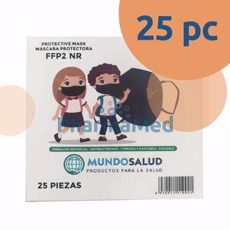 Image de Masques FFP2 enfants KADI CE283 noir - 1pc