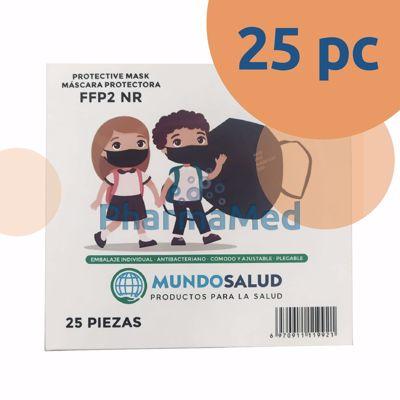 Image sur Masques FFP2 enfants KADI CE283 noir - 1pc