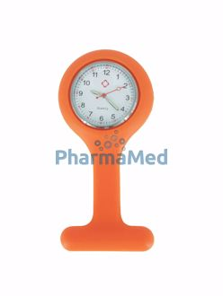 Image de Montre infirmière Anti-choc - Orange