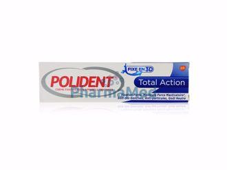 Image de POLIDENT TOTAL ACTION colle dentier - 40gr