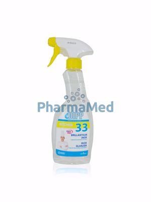 Image sur DIPP 33 - Spray brillant pour inox - 500ml