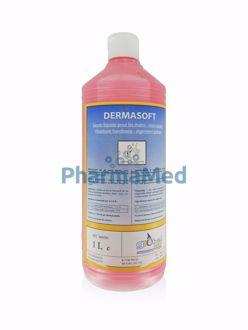 Image de DERMASOFT - savon mains liquide parfum rose - 1L