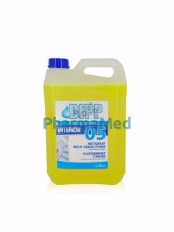 Image de DIPP 05 - nettoyant multi-usages citron - 5L