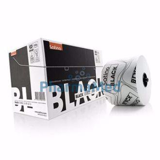 Image de Satino black : papier toilette - recyclé - 2plis - blanc -