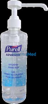 Image sur PURELL gel hydroalcoolique + pompe - 500ml