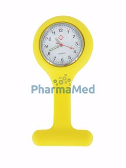 Image de Montre infirmière Anti-choc jaune