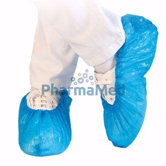 Image de Protège chaussures plast. bleu - 1000pc