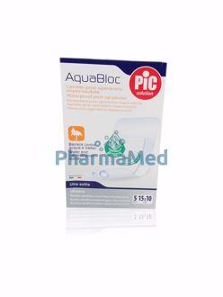 Image de Aquabloc pansement transparent hypoallergénique - 15x10cm -