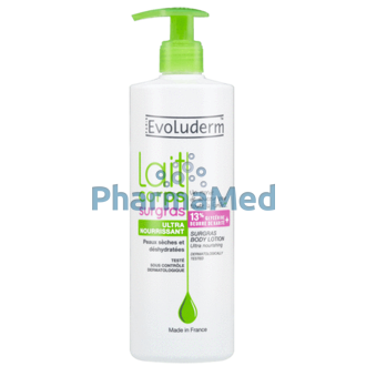 Image de EVOLUDERM Body lotion Surgras - 500ml