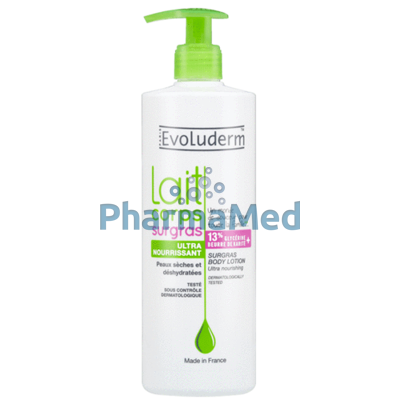 Image sur EVOLUDERM Body lotion Surgras - 500ml