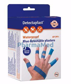 Image de Pansements détectables bleus waterproof assortis par 40pc