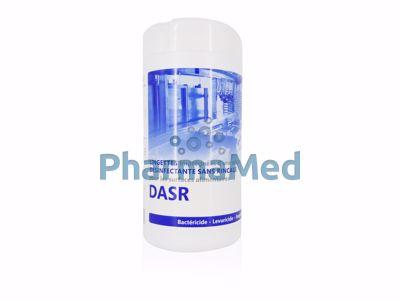 Image sur DASR100 lingettes désinfectantes contact alimentaire - 100p