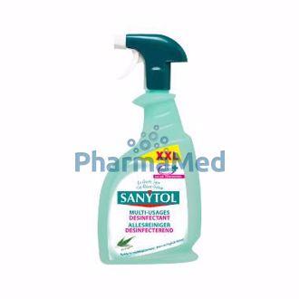 Image de SANYTOL Désinfectant multi usage vapo XXL - 750ml