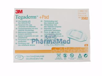 Image de Tegaderm +Pad -  5x7cm - 50pc