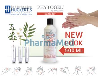 Image de PHYTOGEL SANITIZER gel hydroalcoolique - 500ml