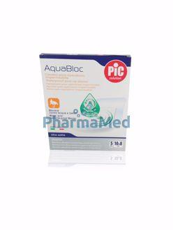 Image de Aquabloc pansement transparent hypoallergénique - 10x8cm -