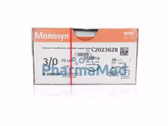Image de Monosyn undyed 3/0 70cm C0023628 - 36 fils