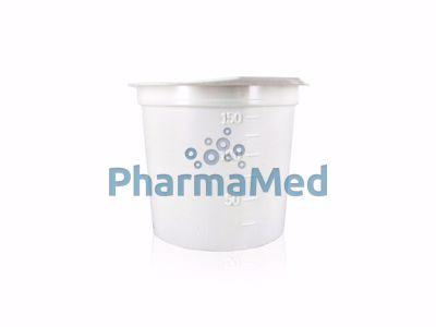 Image sur Crachoir plastique avec couvercle - 150ml - 1pc