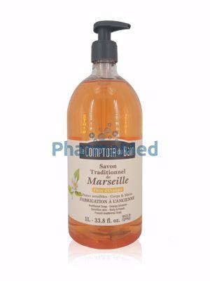 Image sur Savon liquide de Marseille Fleur Oranger - 1L