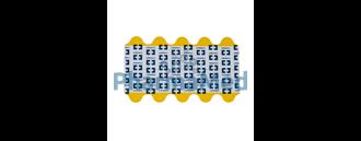 Image de Electrodes ECG Kendall 5500 + tab  (20x100pc)