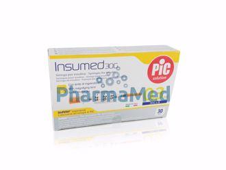 Image de Seringues insuline PIC 0,3ml G30 8mm - 3 x10 pièces